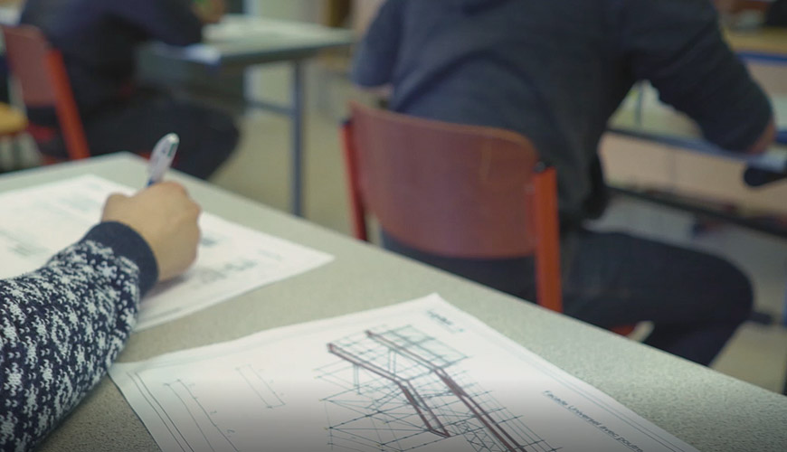 Bac professionnel technicien d'études du bâtiment Option B : Assistant en architecture
