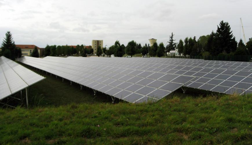 visite du site de la centrale de production d'électricité par