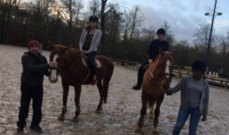 Suite de l'équitation en accompagnement personnalisé