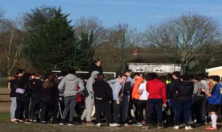 La journée d'intégration football du 16 février