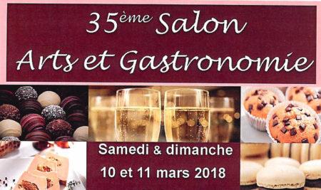 Participation au salon d'arts et de la gastronomie de La Rochette