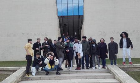 Sortie au mémorial de Caen