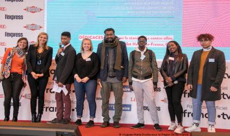 Remise du Prix littéraire des lycéens au Salon du livre de Paris