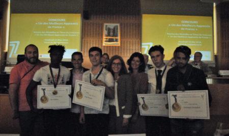 Remise des médailles aux « Meilleurs Apprentis de France »