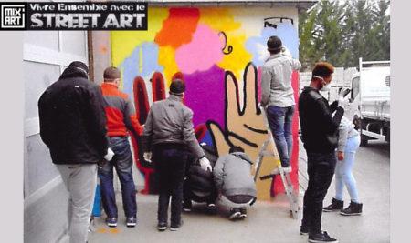Mix'art : transmettre les valeurs de la République au travers du street art