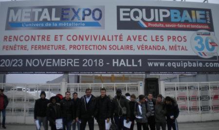 Salon METALEXPO : les métalliers ont croisé Mme Pénicaud, ministre du travail