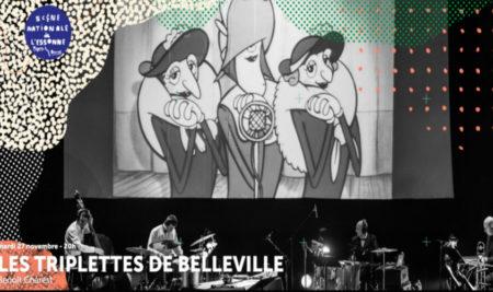 Le ciné-concert « Les triplettes de Belleville » pour nos élèves internes