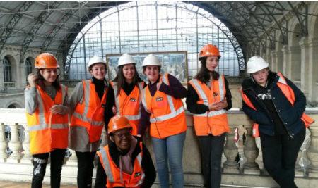 15 filles ont participé à la Girls'Day organisée par la SNCF