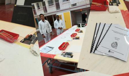 Des collégiens en mini-stages dans nos ateliers