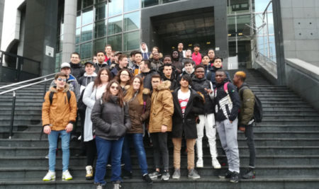 L'Opéra Bastille a été visité grâce à l'association «Les Concerts de Poche» !