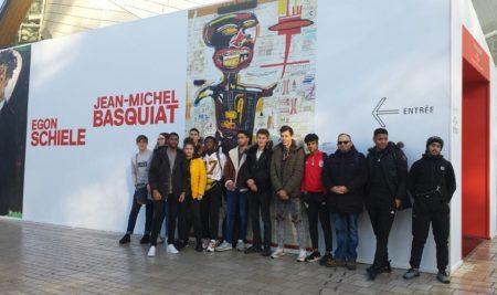 Exposition Basquiat à la fondation Louis Vuitton