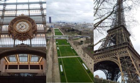 Sortie Musée d'Orsay / Tour Eiffel