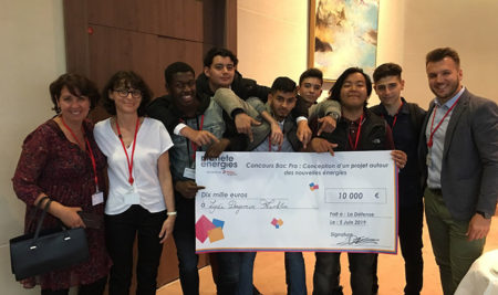 Les PIMSEC remportent le deuxième prix du concours planète énergie